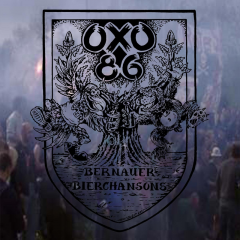 Oxo 86 - Bernauer Bierchansons (LP) Violett-White Haze Vinyl 200 copies (Jubiläums Edition)