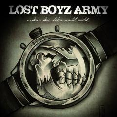 Lost Boyz Army - Denn das Leben wartet nicht (2LP) silvergrey-Unique  Vinyl Gatefolder