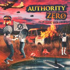 Authority Zero - Ollie Ollie Oxen Free (LP) limited splatter Vinyl