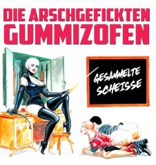 Gummizofen - Gesammelte Scheisse (LP) ultraclear redgreen splashed Vinyl 150 copies