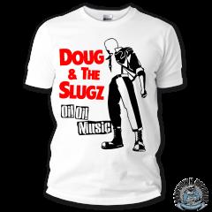 Doug & the Slugz - OI! OI! MUSIC TShirt (black)