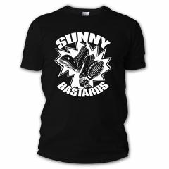Sunny Bastards - Boots Logo Tshirt (black)
