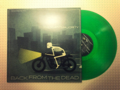 Silent Majority, the - Back from the Dead (LP) green translucent Vinyl 50 copies + Poster