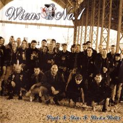 Wiens No 1 - Punks & Skins & RnRer (CD) (Einzelstück)