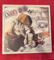 Oxo86 - Rien ne va Plus (LP) black Vinyl, Autogramm-Charity-Collection (2 copies)