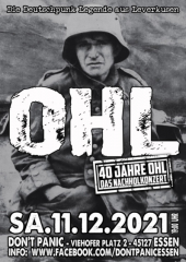 OHL / Old Virus - Live! (Ticket) 11.12.2021 Dont Panic Essen