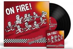 Rolando Random & the young Soul Rebels - On Fire (LP) white Vinyl 100 copies