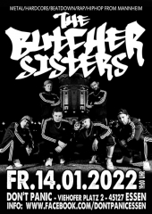 Butcher Sisters - Live! (Ticket) 14.01.2022 Dont Panic Essen