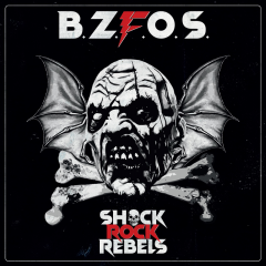 Bloodsucking Zombies from outer Space - Shock Rock Rebels (LP) red Vinyl