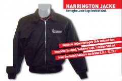 Hotknives, the - Harrington Jacke (black) bestickt