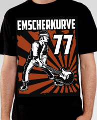 Emscherkurve 77 - Skinhead on Stage - T-Shirt (black)