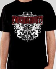 Emscherkurve 77 - Wappen T-Shirt (black)