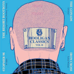 split Stomper 98 / Iron Cross, Gonads, Resort Bootboys - Hooligan Classic Vol.2 (2EP) 7inch