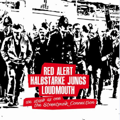 split Red Alert / Halbstarke Jungs / Loudmouth (LP) Cover No.3 limited 100
