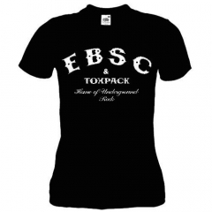 Toxpack -  EBSC Home of Underground Rock - Girlie Shirt (black)