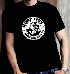 Gimp Fist -Marching on and on T-Shirt (black)
