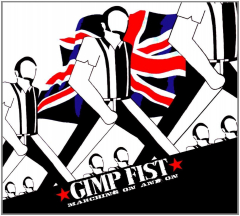Gimp Fist - Marching on an on (CD)