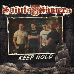 Saints & Sinners - Keep hold (EP) 7inch lim. 200, beer Vinyl Gatefolder
