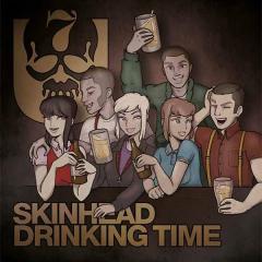 7er Jungs - Skinhead Drinking Time (EP) black Vinyl 7inch