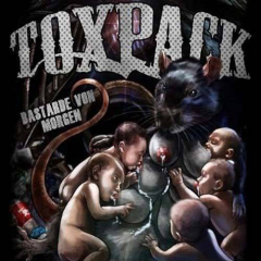 Toxpack -Bastarde von Morgen (LP) limited 300 clear white vinyl