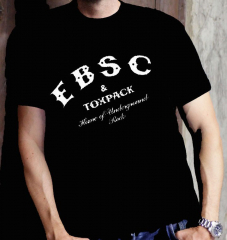 Toxpack - EBSC Home of Underground Rock - T-Shirt (black)