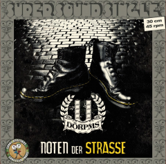 Dörpms - Noten der Strasse (LP) black Vinyl, Super Sound Single#4 12inch/45RPM