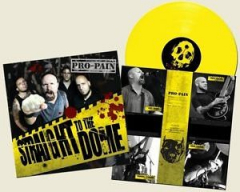 Pro-Pain - Straight to the Dome (LP) limited yellow Vinyl