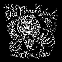 Old Firm Casuals, The - This means war (LP) silver Vinyl US-Version Pirate Press